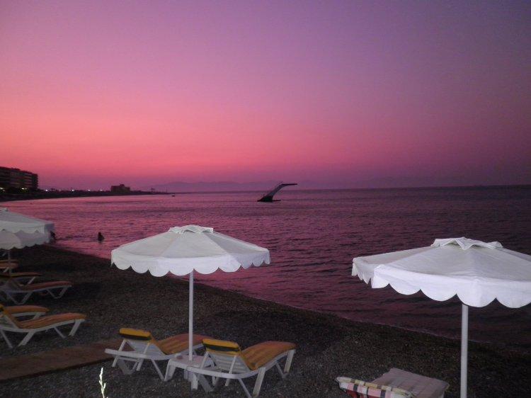 tramonto Rodi