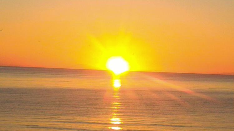 Oddsson tramonto